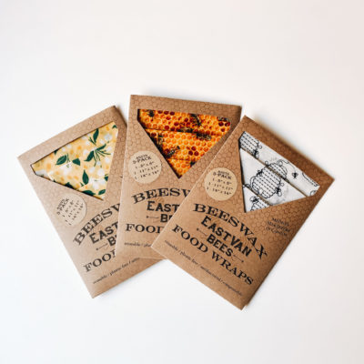 Beeswax Wraps (3 pack of various patt)