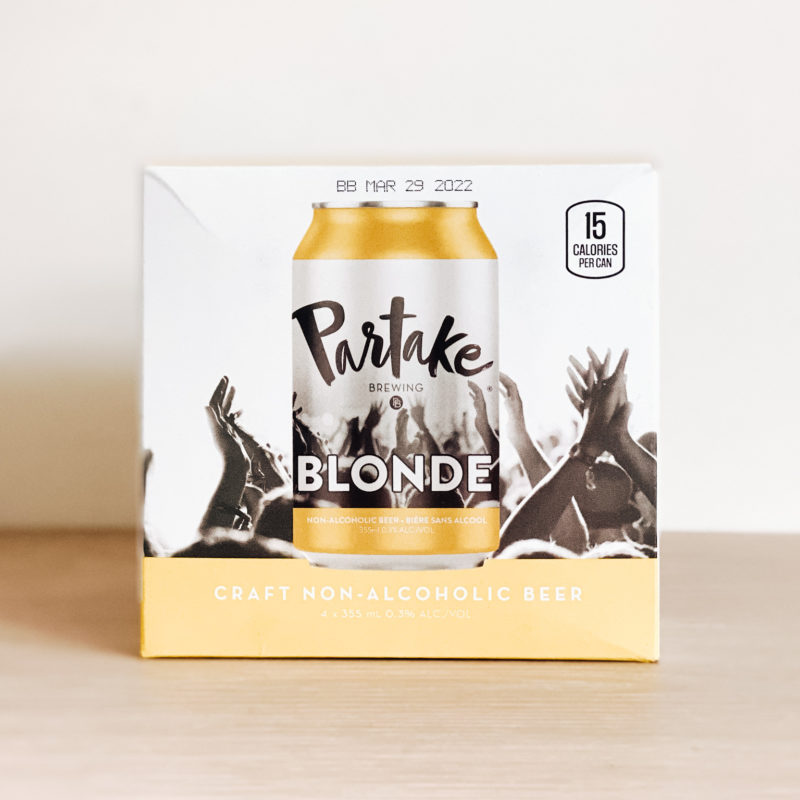 Non-Alcoholic Blonde Ale – 4 pack