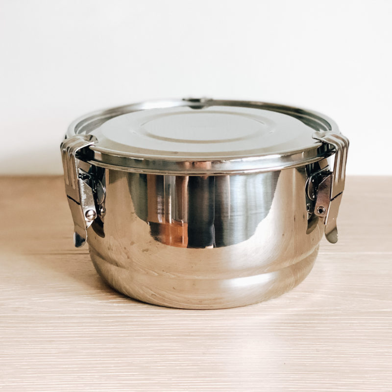 Airtight Stainless Steel Container – 16 cm